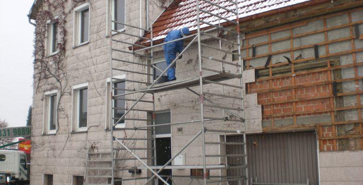 Asbestdemontage- und Entsorgung
